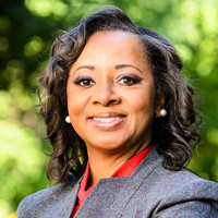 Portrait of Cheryl Gittens, interim deputy vice chancellor for diversity and inclusion, vice provost and chief diversity officer at University of Wisconsin-Madison
