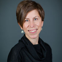 Studio portrait of Kelly Rupp, Assistant Vice Provost for Faculty and Staff at University of Wisconsin-Madison.